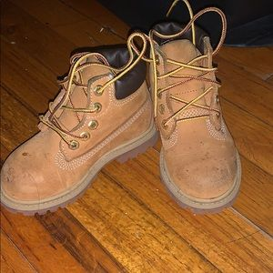 Toddler Timberland Boots 2 pairs